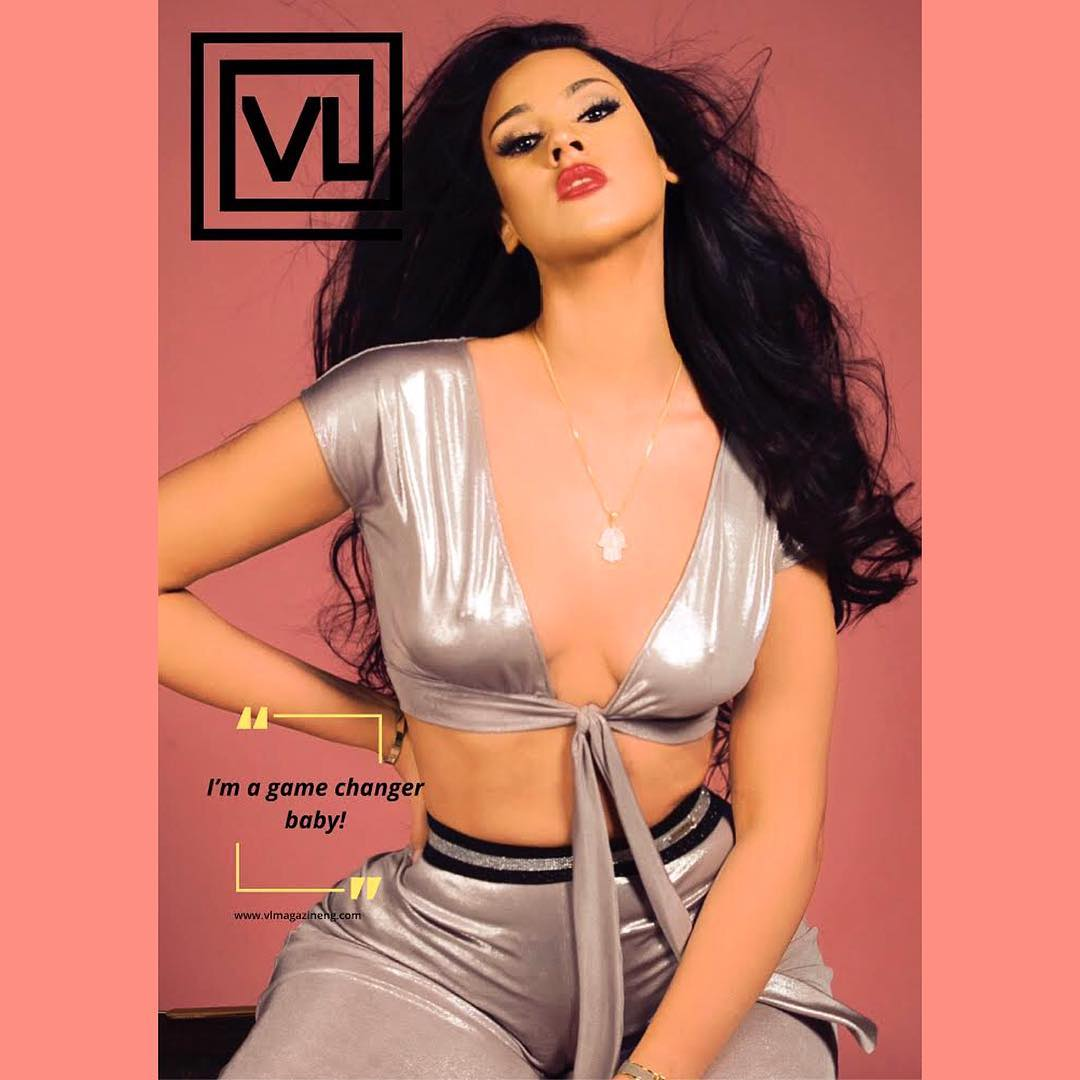 IK Ogbonna's Wife,Sonia Lareina In Bikini Covers Vlmagafrica Magazine