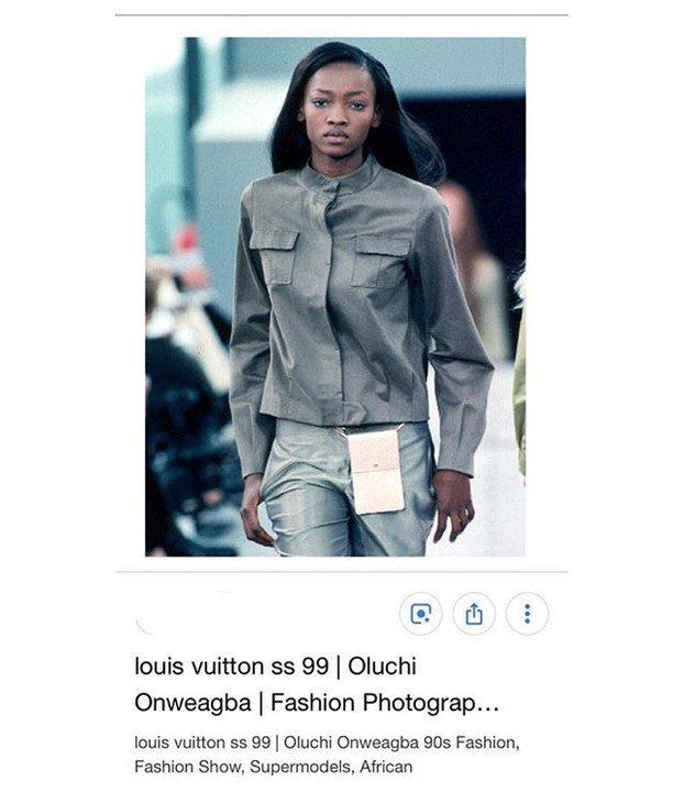 Nigerian Supermodel, Oluchi Debunk Reports That Janet Is The First Nigerian To Walk Louis Vuitton