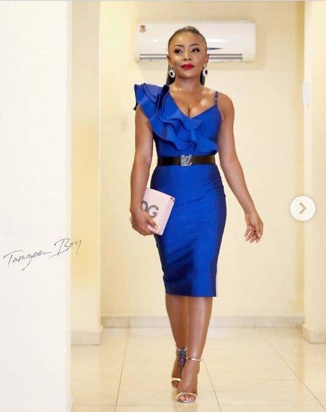 Ifu Ennada Glows In Massive Cleavage-Baring Outfit