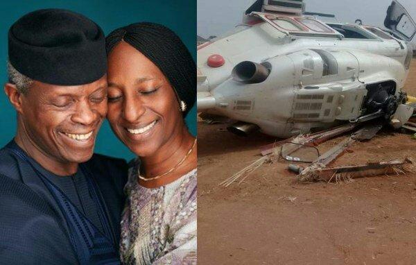 News Of My Husband's Helicopter Crash Rattled Me - Osinbajo's  Wife Dolapo Osinbajo