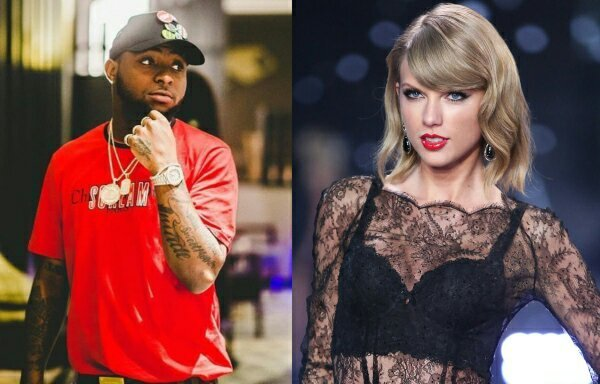 Davido Loses To American Singer, Taylor Swift In 2019 Nickelodeon Kids' Choice Awards