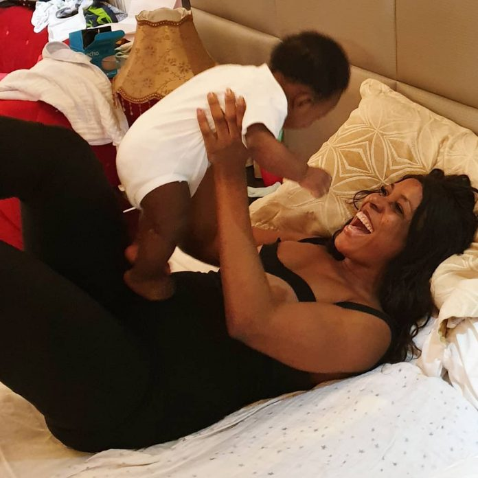 Linda Ikeji Celebrates Mothers Day, Shares Adorable moments with her Son Jaycee