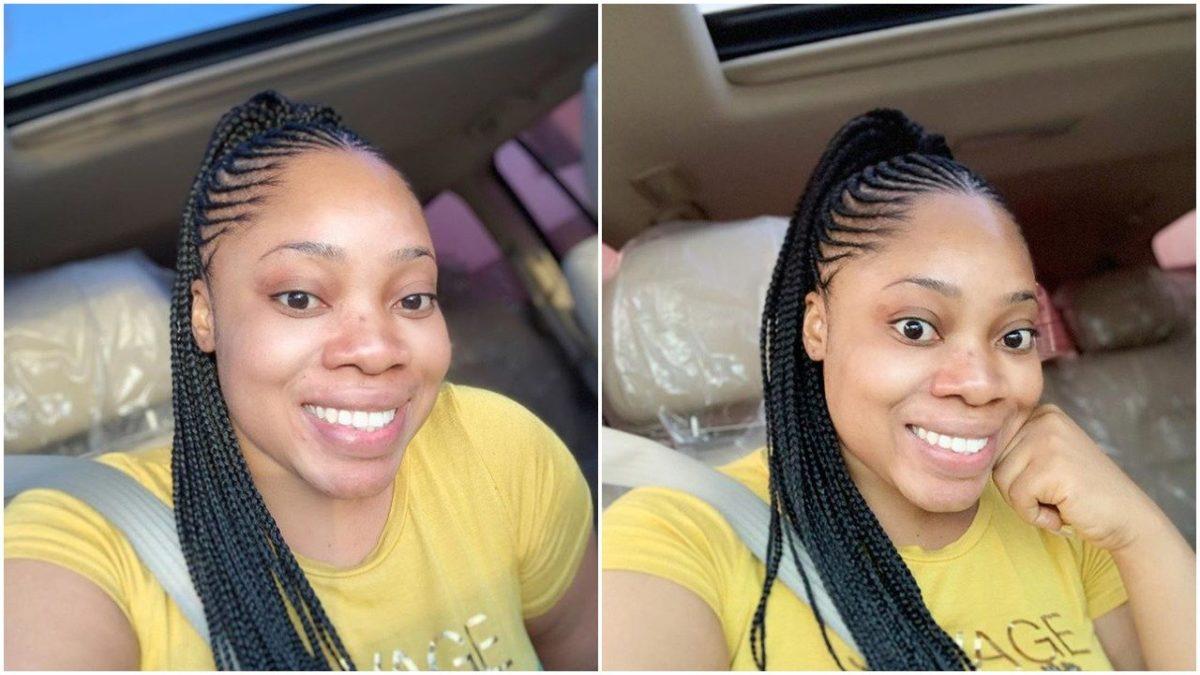 Ghanaian Actress Moesha Boduong Shares No Makeup Photos, Fans React