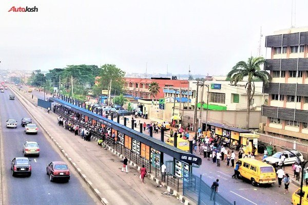 Fuel Scarcity Leaves BRT Passengers In Lagos Stranded (PHOTOS)