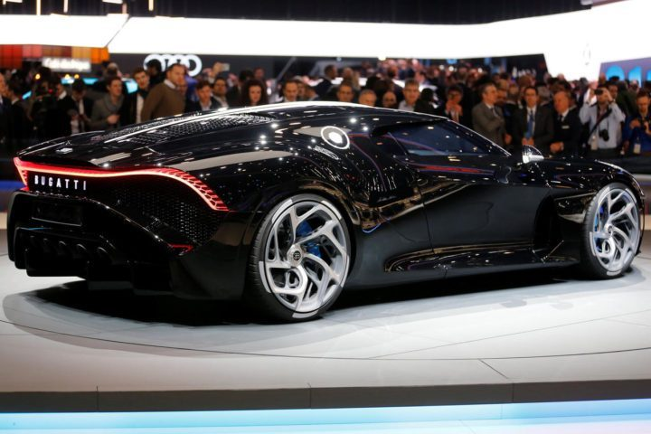 """Bugatti sells most expensive car ( Buggati""""La Voiture Noire,"""" ) ever made"""