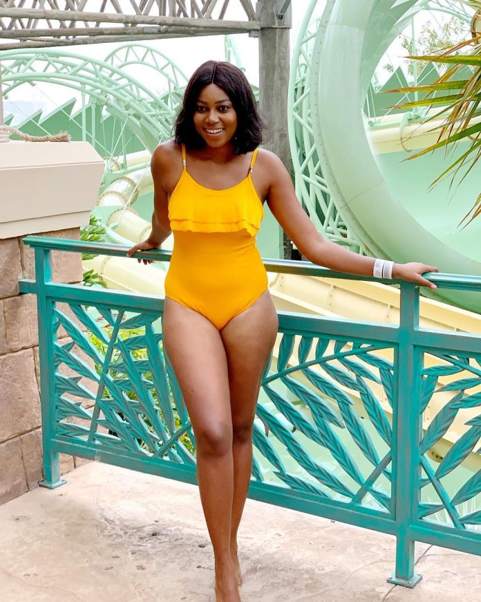 Actress Yvonne Nelson Shows Off Her Banging Bod in Sexy Swimwear