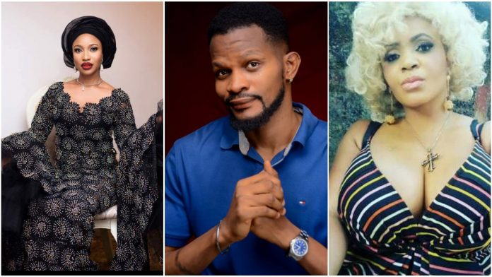 So You Can Pose Semi Nude For A Photo Shoot And Still Preach To Cossy For Striping - Uche Maduagwu blast Tonto Dikeh
