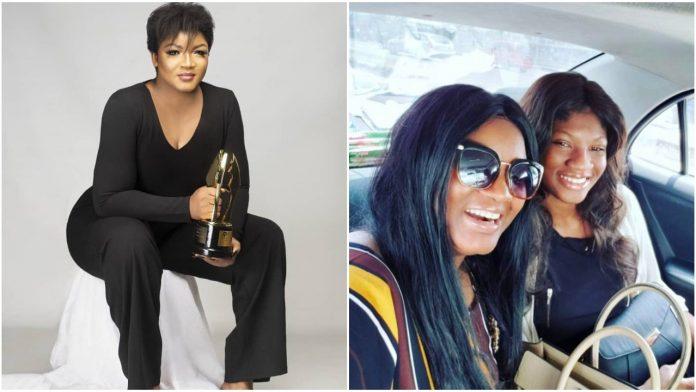 Omotola Jalade Ekeinde Celebrates Her First Child Princess As she Turns 22