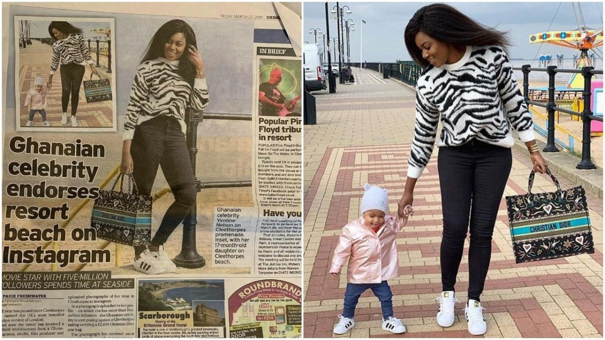 Yvonne Nelson & Daughter featured