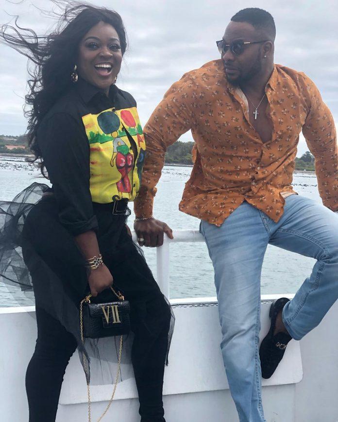 Ghanaian Actress, Jackie Appiah Allegedly Dating Nigerian Actor Bolanle Ninalowo