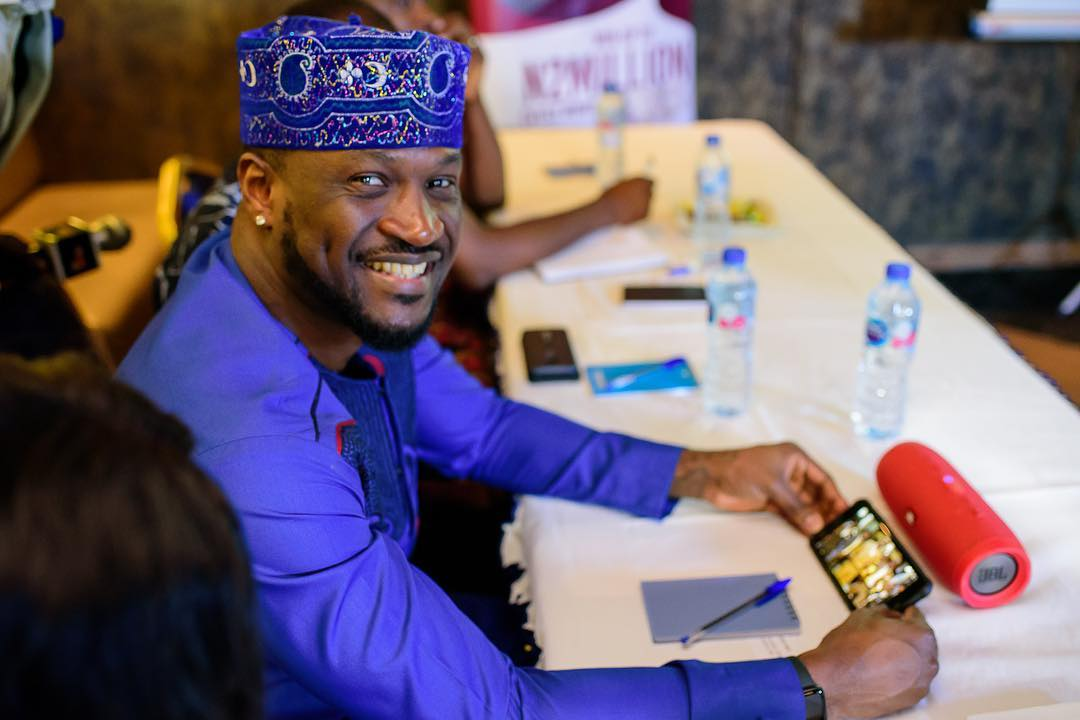 Peter Okoye of defunct P-square group mourns the death of a special Father