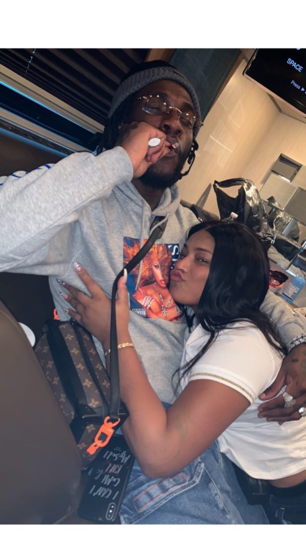 Burna Boy And his Girlfriend Stefflon Don All Loved Up in New Photos