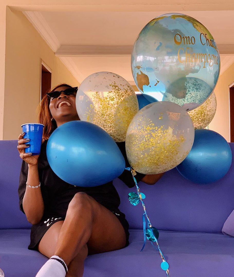 Omo charlie champagne Simi Flaunts Her Wedding Ring