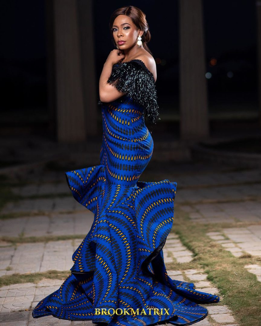 Bbn finalist Tboss looks so beautiful in cleavage barring native outfit