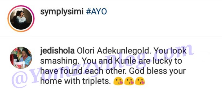 'You And Adekunle Gold Are Lucky To Have Found Each Other': Simi's Mum Celebrates Her