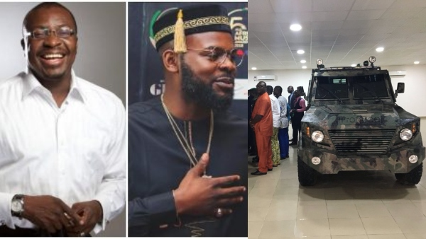 Alibaba And Falz React As Nigerian Company Starts Manufacturing Armoured Carrier In Ijebu Ode