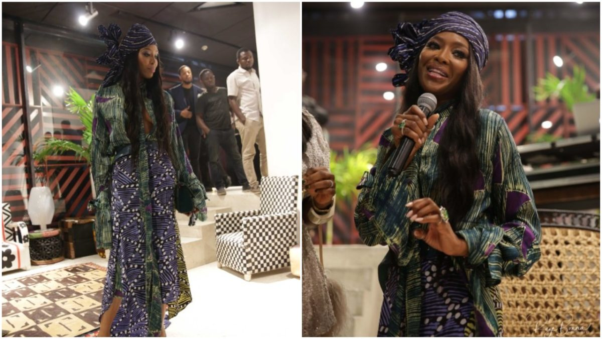 Supermodel Naomi Campbell Is In Lagos Nigeria For Arise Fashion Week 2019