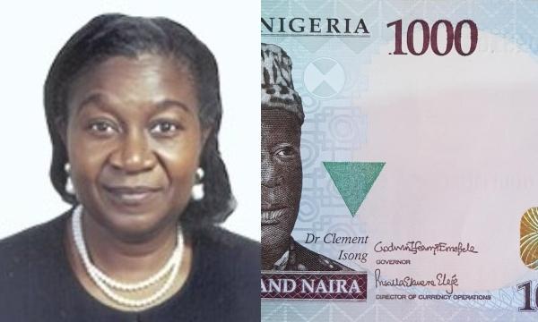 Priscilla Ekwere Eleje First Female signature appears on Naira unclesuru