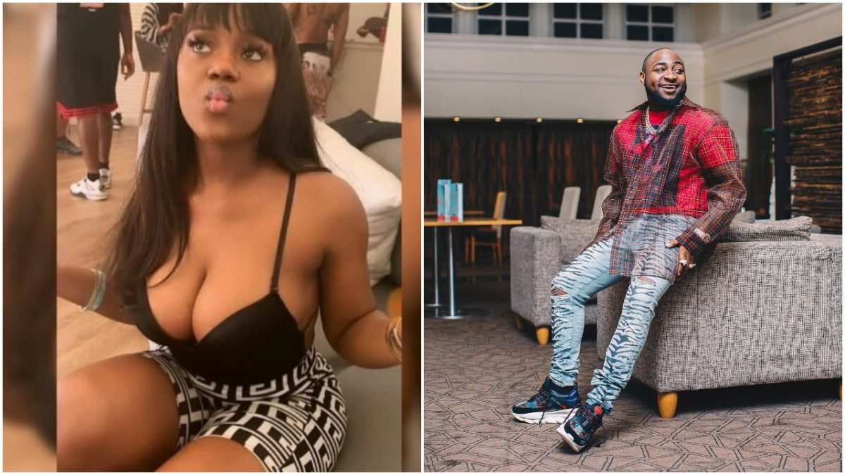 Chioma Flaunts Major Boobs For Davido, As She Finally Met With Him in Bahamas