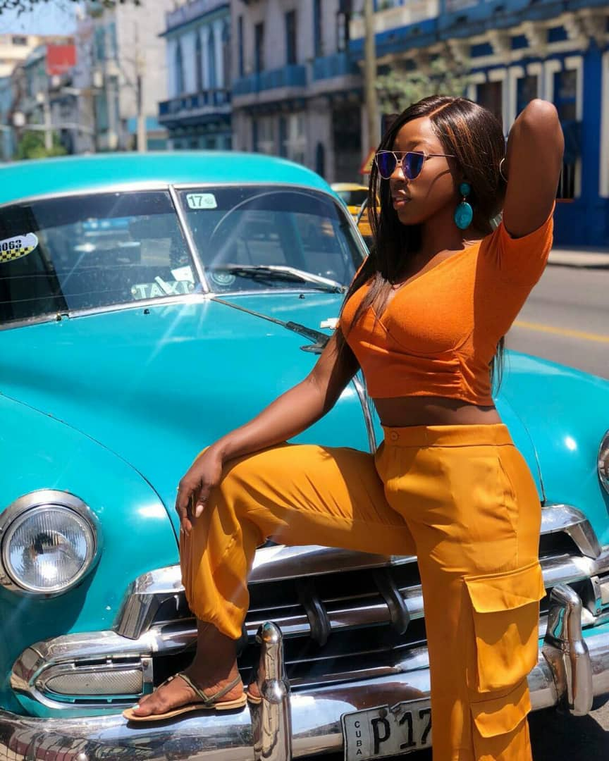 Actress Beverly Naya celebrated 30th Birthday in Cuba