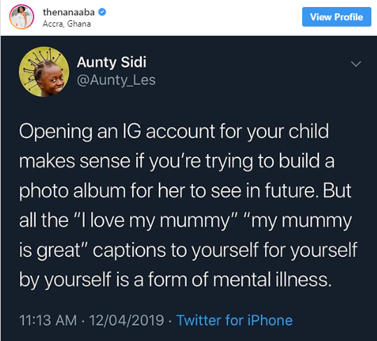 Yvonne Nelson deletes daughter's Instagram page after shade from Nigerian Twitter user unclesuru 2