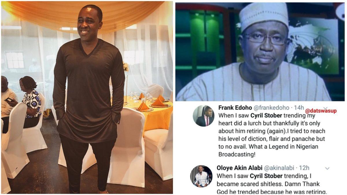 Frank Edoho, Akin Alabi react as Cyril Stober retires from NTA