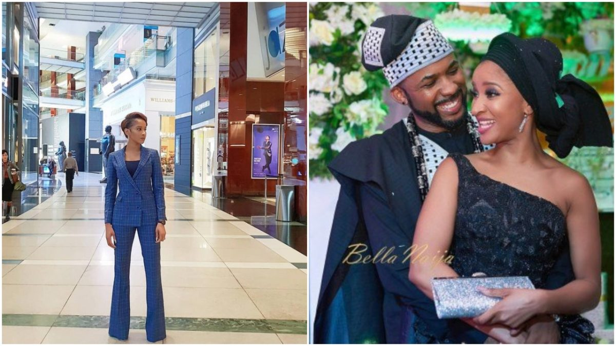 Actress Adesua Etomi And Banky W Are Expecting Their First Child