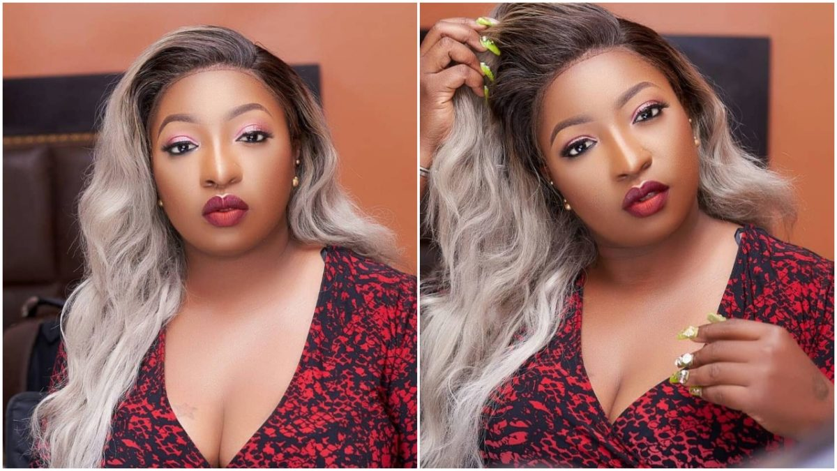 Busty actress, Anita Joseph Flaunts Her Sexy Massive Curves In New Photos