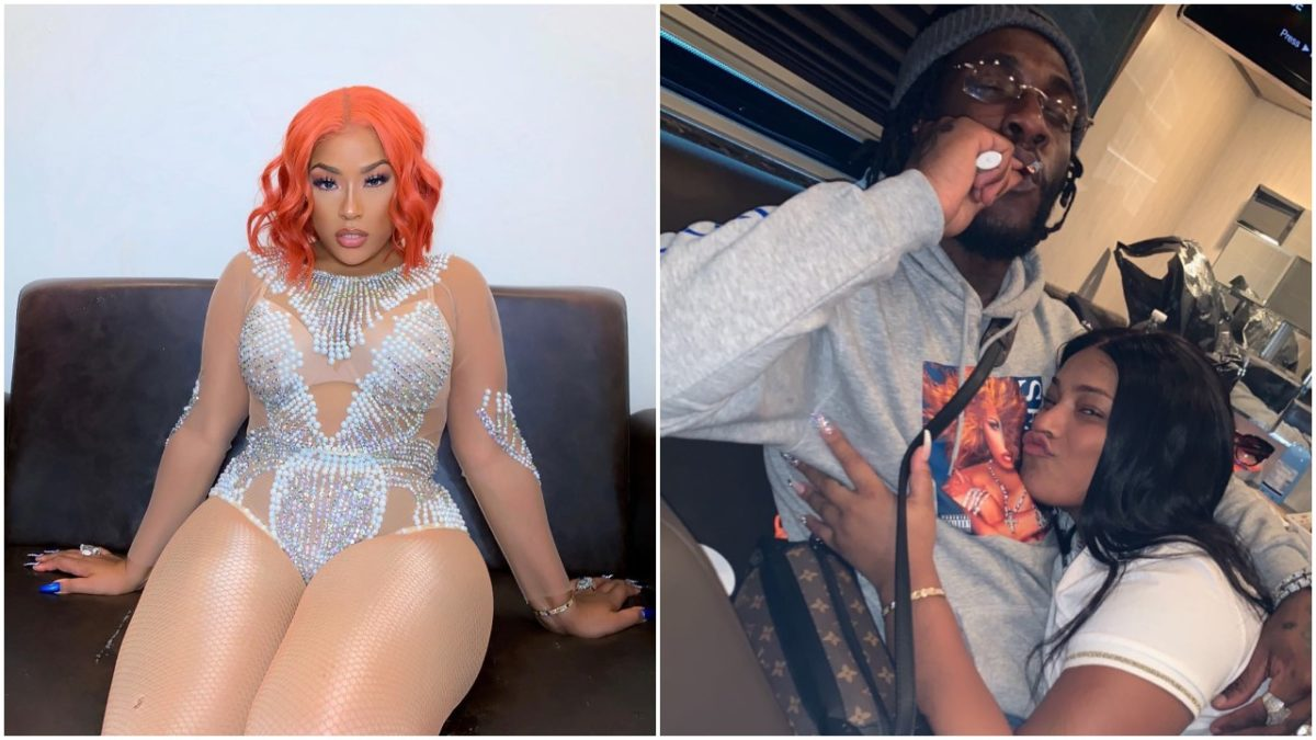 Burna Boy describes Stefflon Don's P*ssy as 'heaven', she says it's all for him