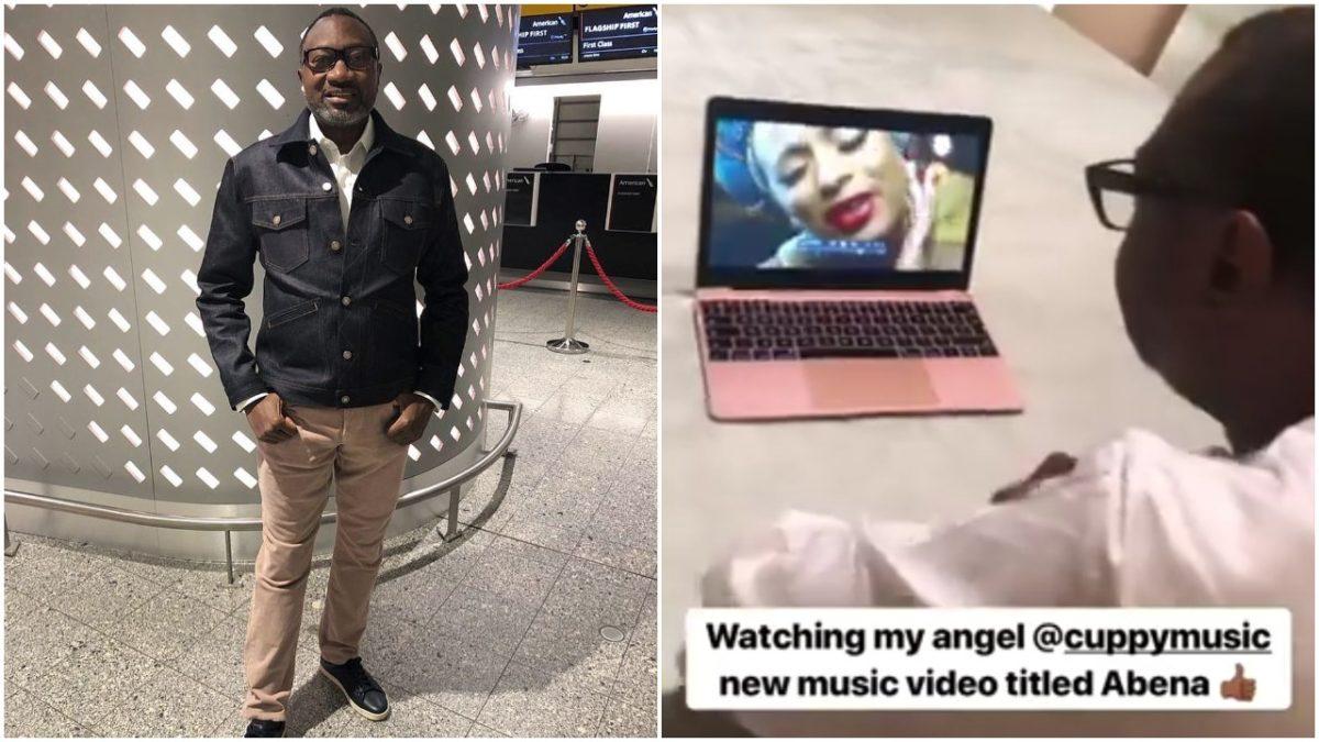 Terrific! Femi Otedola Reviews DJ Cuppy's New Song Abena