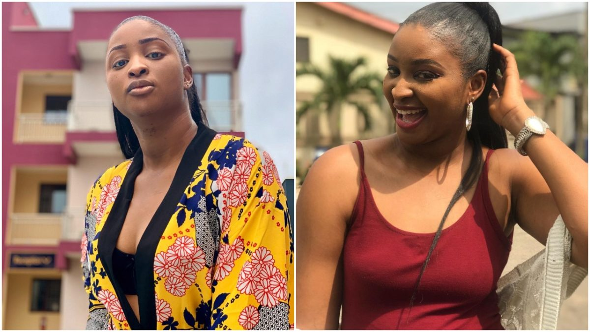 Actress Etinosa Shares Video Of Her Having Her Bath