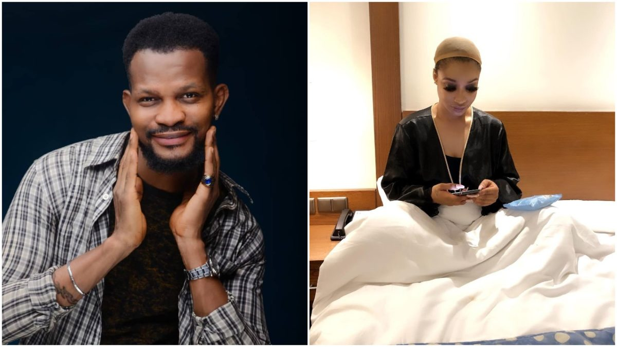 Actor Uche Maduagwu Blasts Tonto Dikeh For Cursing Her Ex Husband's Mother