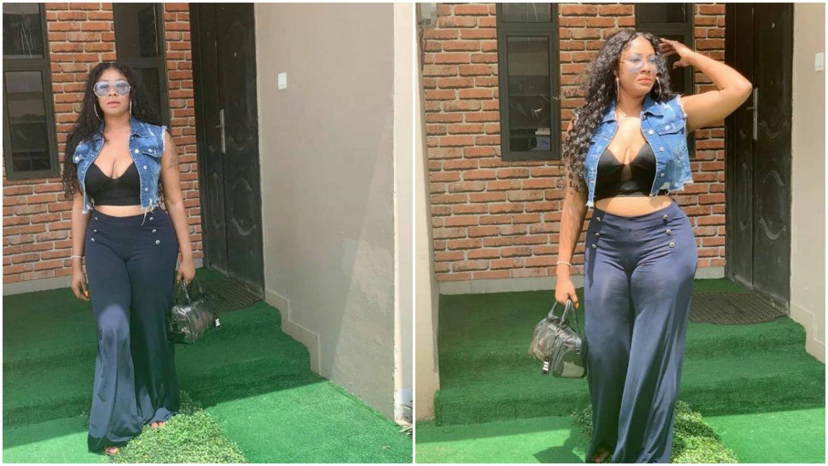 """Dem Go Drink Poison for my Sake die one day"", Angela Okorie curses troll whom said her breast Has fallen"