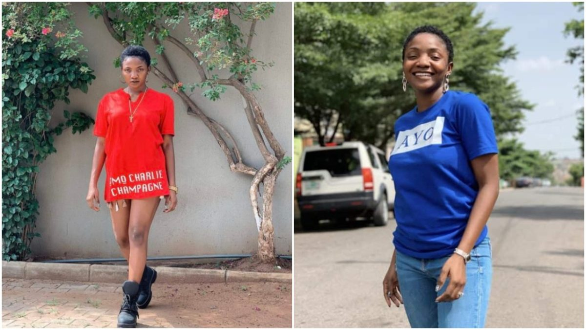 Singer Simi goes on Low Cut Curly Short Hair ,announces Omo Charlie Champagne  Merch