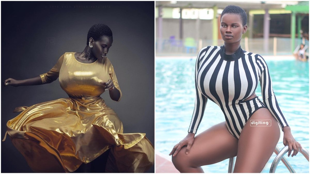 I do OLD MEN and not Small Boys - Ghanaian Busty Model Pamela Odame reveals