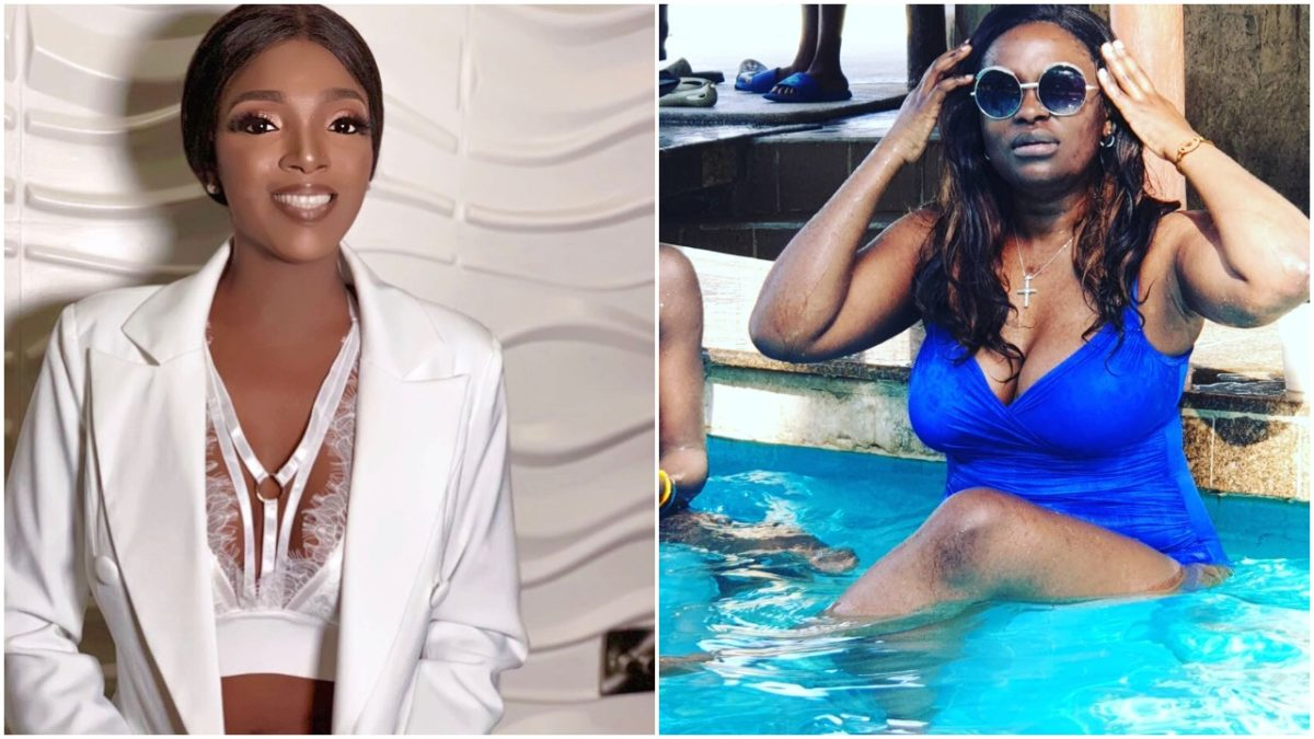 Annie Idibia and Tuface's Babymama, Pero throw shots at each other