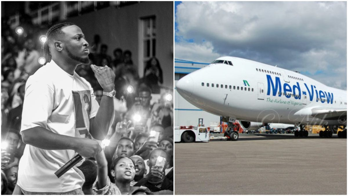 Popular Singer, Peruzzi and his Crew blast Medview airline For Selling Their 12 Flight Ticket