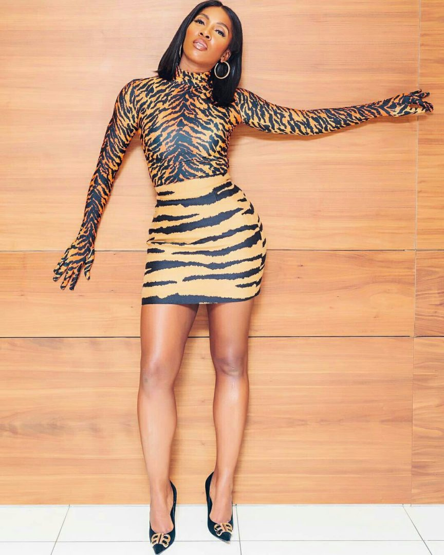 I don't have any issue with Tiwa Savage at all - Singer Victoria Kimani reveals