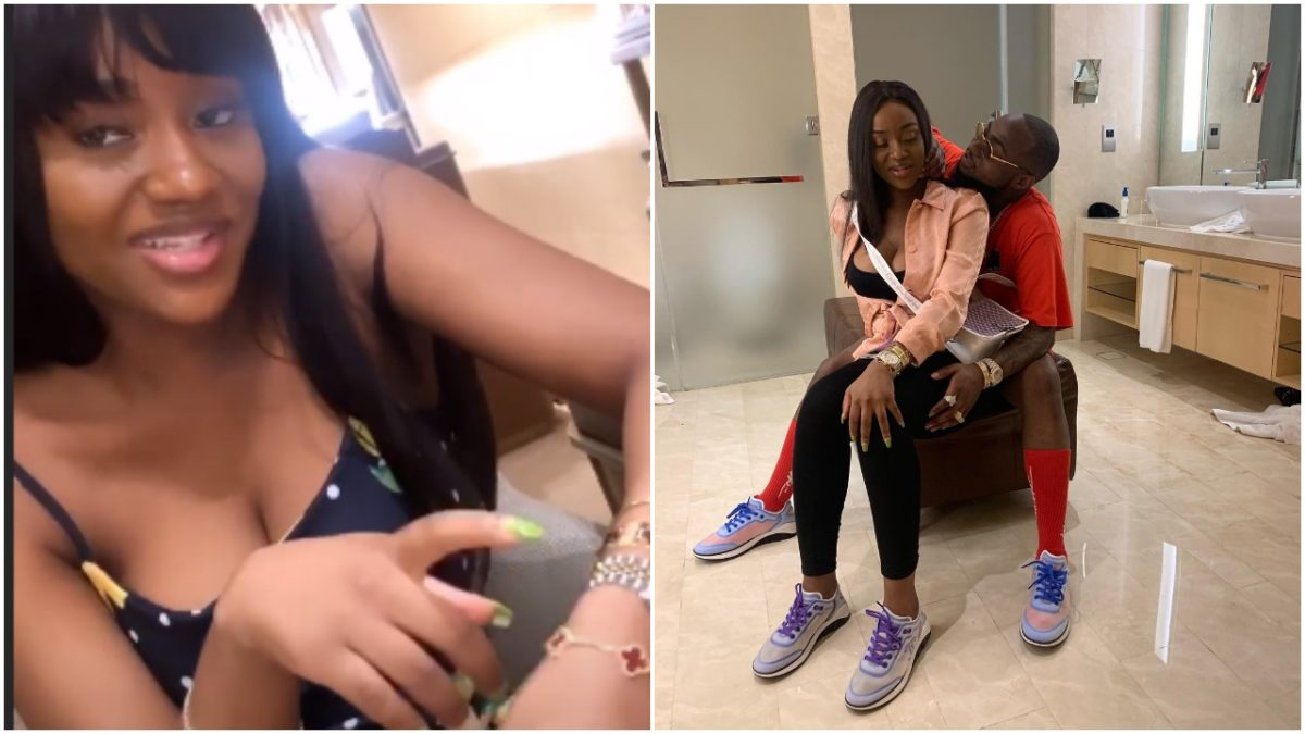 Davido Is Crazy : Chioma overjoyed after he bought her 2 million bracelet In Dubai