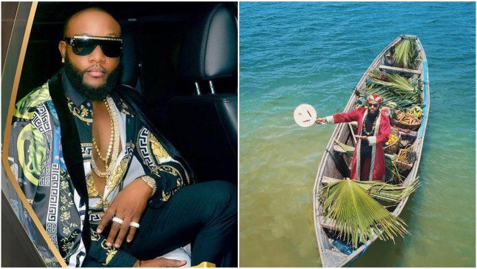 Nigerian Singer Kcee celebrates birthday in New Dapper Photo