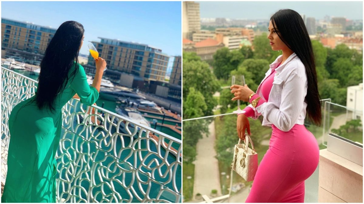 IK Ogbonna's Estranged wife,Sonia Ogbonna Flaunts Her Banging Curves In New Photos