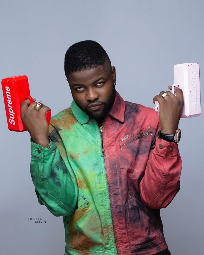 Skales shares 'nude' photo of his girlfriend Neza, Singer Ice Prince reacts