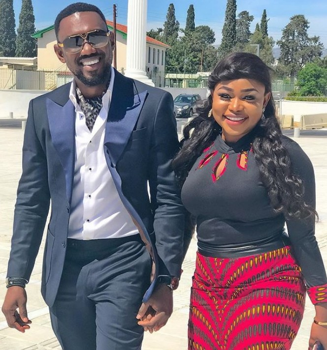 Actress Ruth Kadiri And Her Husband, Ezerika Expecting Their First Baby