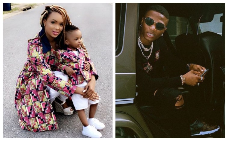 Wizkid Has Never Taken A Picture With King Ayo, His 2nd Son  -  Binta Diallo reveals
