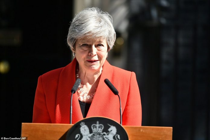 BREAKING - British Prime Minister, Theresa May Resigns