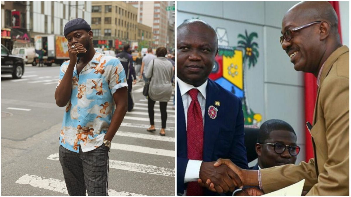 Adekunle Gold loses dad just months after been appointed Permanent Secretary of Education