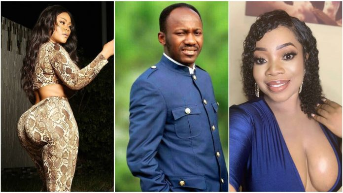 Instagram Blogger Claims Apostle Suleman Is Having Sex With Moesha Boduong And Daniella Okeke