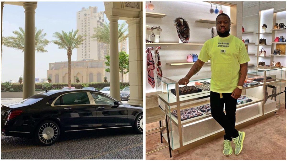 Major Bag ALERT! Hushpuppi Buys Himself a N71m 2018 Mercedes Maybach S650