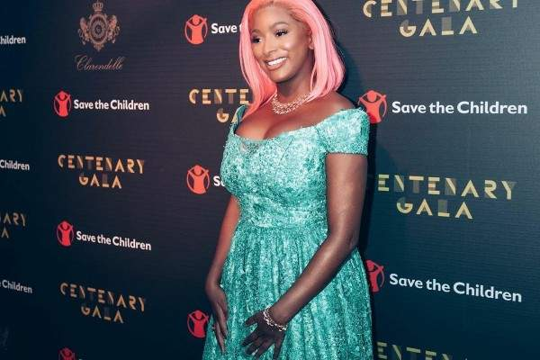 DJ Cuppy Poses With Her father's Rolls-Royce Phantom 8