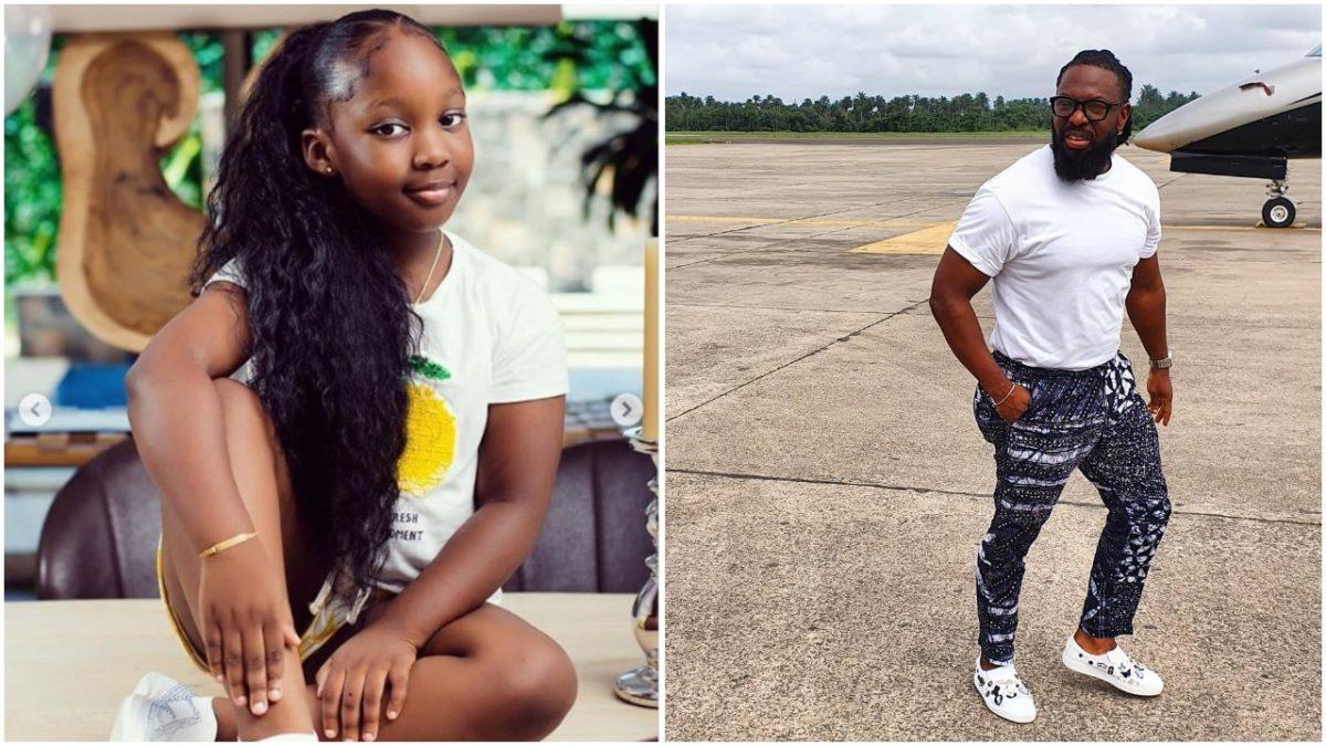 Timaya's First Daughter, Emma Celebrates Her 7th Birthday (Photos)